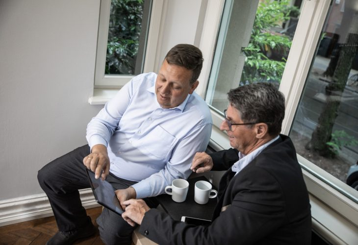 Jochen Dieckhoff Zahlenwelt im Gespräch mit Kunden